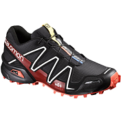 Беговые кроссовки для XC Salomon 2018-19 SPIKECROSS 3 CS Black/Radiant.r/Wht