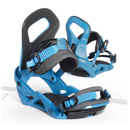 Купить Сноуборд крепления NIDECKER 2016-17 TEAM BLUE, крепления, 1288478