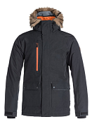 Куртка сноубордическаяОдежда сноубордическая<br>Мужская сноубордическая куртка Selector Mountain Exclusive из новой  коллекции Quiksilver. ХАРАКТЕРИСТИКИ: критические швы проклеены, сеточная вентиляция, капюшон с регулировкой, система прикрепления штанов к куртке, защита подбородка от натирания молнией из микрофибры. СОСТАВ: 100% полиэстер.<br><br><br>Характеристики:<br><br><br><br>Водостойкость: Dry Flight 10K<br><br>Утеплитель: Polyfill 140 г (тело) / 100 г (рукава) / 80 г (капюшон)<br><br>Подкладка: Sherpa with влаговыводящая тафта<br><br>Крой: приталенный и удлиненный<br><br><br>Критические швы проклеены<br><br>Сеточная вентиляция<br><br>Капюшон с регулировкой<br><br>Система прикрепления штанов к куртке<br><br>Защита подбородка от натирания молнией из микрофибры<br><br>Медиакарман<br><br>Карман для скипасса<br><br>Карман для маски с тканью для протирания фильтра<br><br>Отстегивающаяся противоснежная юбка из синтетической тафты<br><br>Отстегивающаяся противоснежная юбка<br><br>Гейтеры из лайкры<br><br>Клипса для ключей<br><br>Подол с утяжкой<br><br>Съемная оторочка капюшона из искусственного меха<br><br>Нагрудная молния YKK® Herringbone<br><br>Коллекция Snow Modern Originals<br><br>