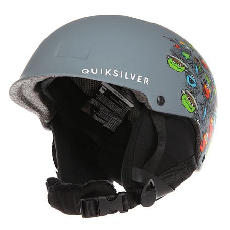Купить Зимний Шлем Quiksilver 2016-17 EMPIRE B HLMT GLQ9 SESAME STREET OSCAR Шлемы для горных лыж/сноубордов 1309425