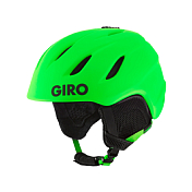 Зимний Шлем Giro 2017-18 NINE JR MATTE BRIGHT GREEN