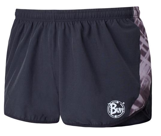 Купить Шорты беговые BUFF RUNNING SHORTS MAVERICK (BLACK) черный, Одежда для бега и фитнеса, 759138