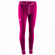Брюки беговые Bjorn Daehlie 2017-18 Pants TrainingWool Wmn Bright Rose