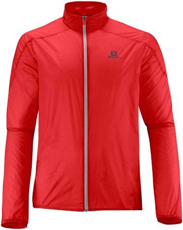 Купить Куртка беговая SALOMON 2015-16 S-LAB LIGHT JACKET M RACING RED Одежда лыжная 1224030