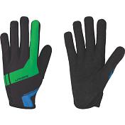 Перчатки велосипедныеПерчатки, варежки<br>Легкие перчатки для марафонов и гонок кросс-кантри&amp;nbsp;<br> <br> -длинные пальцы&amp;nbsp;<br> -тыльная сторона из сетчатого материала<br> -защита из материала Clarino на большом и указательном пальцах<br> -удлиненная ладонь в районе указательного пальца для лучшего сцепления&amp;nbsp;<br> -однослойная перфорированная ладонь для оптимальной чувствительности и вентиляции
