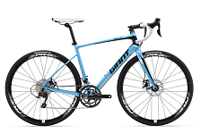 Велосипед Giant Defy 1 Disc 2016 BLUE / Синий