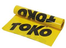 Непромокаемая ткань TOKO Ground Sheet (желтый полиэтилен 25м х 1,2 м)