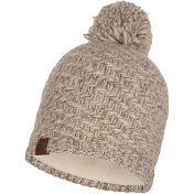 Шапка Buff KNITTED & POLAR HAT AGNA SAND