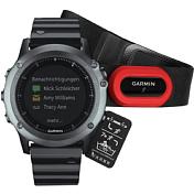 Умные Часы Garmin 2016-17 Fenix 3 Sapphire с Металлическим Браслетом, Hrm - Run (010-01338-26)