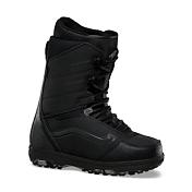 Ботинки для сноубордаБотинки для сноуборда<br>Новая модель ботинок в сноубордической линейке Vans Sequal.&amp;nbsp;&amp;nbsp;Произведенные из высококачественных материалов, эти ботинки сделаны для райдеров, которые требуют самого лучшего. Модель с классической шнуровкой снабжена всеми необходимыми технологиями. Дизайн ботинок выполнен в матово-черном цвете,&amp;nbsp;&amp;nbsp;а мысок, пятка и боковая полоска &amp;#40;side stripe&amp;#41; покрыты светоотражающим напылением.&amp;nbsp;&amp;nbsp;Подошва выполнена из резины черно-серого камуфляжа. Модель Sequal отлично подходит для катания как в парке, так и по целине.<br><br>Материал:<br>49% кожа, 19% текстиль, 32% иск кожа, подошва 100% резина<br><br>Технологии:<br>VANS FLEX CONTROL SYSTEM<br>THE REACH AROUND <br>CUSTOM-X LINER<br>V-CORK FOOTBED <br>V-HEX OUTSOLE