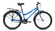 ВелосипедСпортивная посадка<br>Велосипед для комфортного катания в городе.<br> <br> Особенности:<br> <br> - Комфортная посадка для прогулок по городу и за городом<br> - Top Tube: сечение верхней трубы<br> - Down Tube: сечение нижней трубы<br> <br> Технические характеристики:<br> <br> Страна производства: Россия<br> Вес: 16,0 кг<br> Рама<br> Материал/тип рамы: Сталь Hi-Ten<br> Ростовкa рамы: 17<br> Амортизация<br> Тип амортизации: Жесткая вилка<br> Вилка: Жесткая стальная<br> Рулевой узел<br> Рулевая колонка: Neco, 1 1/8, резьбовая<br> Вынос руля: Резьбовой стальной матовый<br> Руль: Стальной матовый, 25,4х620 мм<br> Регулируемая высота: Да<br> Тормозная система<br> Тип тормозов: Ободные (V-Brake)<br> Тормоза: Promax TX-119<br> Трансмиссия<br> Количество скоростей: 1<br> Каретка: Neco, стальная<br> Система шатунов: Golden Swallow GS-S112, стальная<br> Трещотка / кассета: Трещотка Kangyue KFW-1801<br> Цепь: KMC C410<br> Колеса<br> Размер колес: 26<br> Втулки: Joytech, стальные хромированные<br> Материал и тип ободов: Алюминиевые двустеночные<br> Обода: Weinmann XTB26, анодированные<br> Покрышки: Forward, 26x1,95 (30tpi)<br> Дополнительно<br> Седло: Comfort<br> Подседельный штырь: Сталь, 28,6x300 мм<br> Крылья: Полноразмерные стальные крашеные<br> Багажник: Стальной с зажимом крашеный<br> Возможность крепления багажника: Есть<br> Подножка: Есть<br> Звонок: Есть<br> Возможность крепления на раме флягодержателя и насоса: Есть<br> Возможность установки передней корзины: Есть<br> Передний и задний катафот: Есть<br> <br> Рекомендуемые аксессуары: