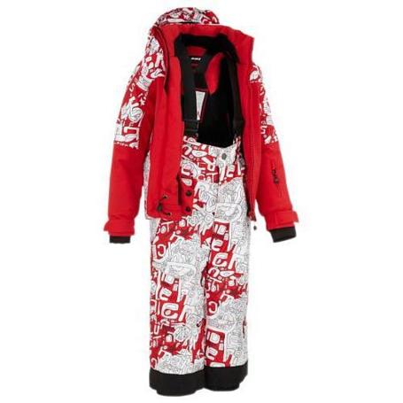 Купить Комплект горнолыжный MAIER 2012-13 Sergio SET Fire темно-красный Детская одежда 786024