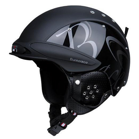 Зимний Шлем Casco SP-3 Bunkerace Black-Black