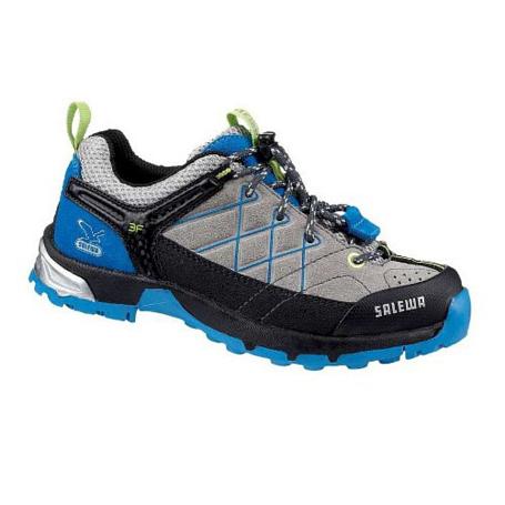 Купить Ботинки для треккинга (низкие) Salewa Junior Approach JUNIOR FIRETAIL L paloma - davos Треккинговая обувь 896942