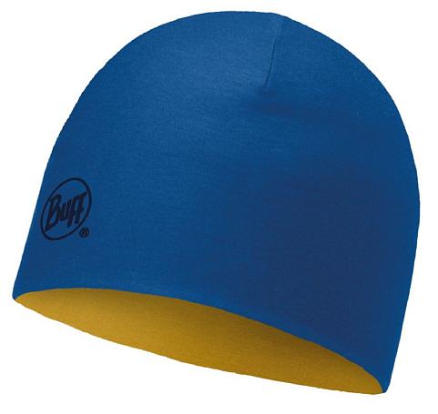 Купить Шапка BUFF MERINO WOOL REVERSIBLE HAT SOLID COBALT-APRICOT-COBALT-Standard Банданы и шарфы Buff ® 1228079