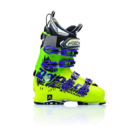 Купить Горнолыжные ботинки FISCHER 2014-15 Ranger Vacuum 10 YELOW/Green Ботинки горнoлыжные 1142885