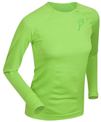 Футболка с длинным рукавом Bjorn Daehlie Round Neck REGULATOR Women Jasmine Green (зеленый)