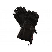 Перчатки горныеПерчатки, варежки<br>Теплые, непромокаемые перчатки для зимних видов спорта<br> <br> -материал: 100% полиэстер<br> -вид мембраны: Sympatex<br> -утеплитель: Thermolite<br> -карабин для пристегивания перчаток друг к другу<br> -затяжки на запястье и на манжете<br> -ладонь усилена кожей