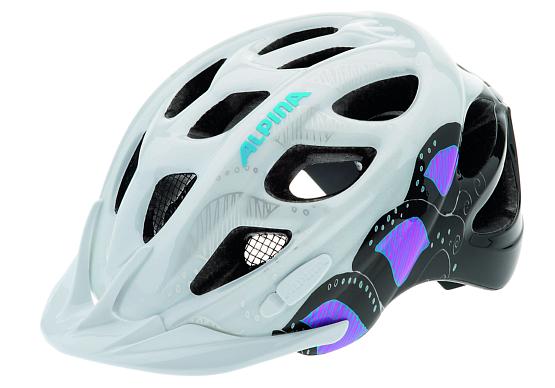 Купить Летний шлем Alpina 2017 ROCKY white-pink-titanium, Шлемы велосипедные, 1180127