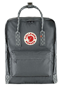 Рюкзак FjallRaven 2020-21 Kanken Super Grey-Chess Pattern