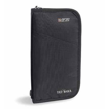 Купить Кошелек TATONKA TRAVEL ZIP L RFID black Кошельки 1246896