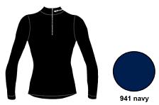Футболка с длинным рукавом ACCAPI TECNOSOFT LONGSL.T-SHIRTWITH40575ZIPUNISEX navy (синий)