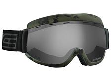 Очки горнолыжныеОчки горнолыжные<br>Культовая итальянская горнолыжная маска, заслуженно любимая как лыжниками, так и, в не меньшей степени, сноубордистами.<br>Сферические термоформованные линзы дают максимальное поле зрения при минимальном искажении. Прибавьте к этому зеркальное напыление, устойчивое к царапинам для кристально чёткой контрастной видимости и совметимость с очками.<br>Тотальная защита от ультрафиолета всех трёх диапазонов.<br>Двойной слой бархата на внутренней поверхности маски придаёт амортизационные свойства и увеличивает комфорт.<br>Подвижное крепления стрепа для максимальной совместимости с любыми шлемами.<br>Бестселлер? Нет, легенда!<br>Характеристики:<br>Возраст: Взрослый. <br>Пол: Унисекс. <br>Категория линз: 3. <br>Линзы с антифогом, полностью блокируют УФ&amp;#40;до 400 Нм&amp;#41;. <br>Раскрашенная оправа. <br>Совместима с очками. <br>Совместима со шлемами. <br>Одинарные линзы обработаны антифогом. <br>Зеркальные линзы, зеркальное покрытие на внешней линзе. <br>Сферические линзы уменьшают искажение периферического зрения.<br>Фронтальная вентиляция оправы