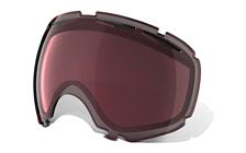 Запасные линзыОчки горнолыжные<br>Двойной дизайн линз с изгибом, повторяющим контуры глаза, благодаря чему расширяется периферический обзор и уменьшается искажение. Противотуманное покрытие F3 Anti-fog и 100% защиты от УФ-излучения.&amp;nbsp;<br> <br> Технические характеристики:<br> <br> Линзы высокой чёткости High Definition Optics®.<br> Антибликовая технология тонирования Iridium.<br> 100% защиты от УФ-лучей (UVA, UVB и UVC).<br> Двойные линзы с противотуманным F3 Anti-fog покрытием.<br> Оптическая точность и производительность линз соответствуют стандарту качества ANSI Z80.3.<br> Материал линз - Plutonite®.<br> Вентиляционные отверстия в верхней части линзы.<br> Для моделей масок Oakley Canopy.