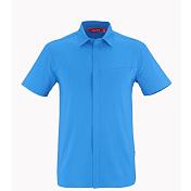 Рубашка для активного отдыхаОдежда для активного отдыха<br>Легкая рубашка для активного летнего отдыха&amp;nbsp;из дышащей, водоотводящей ткани DRYWAY с защитой от уф-лучей. Легко стирается и быстро сохнет.<br> Застегивается на пуговицы, спереди карман на молнии.<br> <br><br>Пол: Мужской<br>Возраст: Взрослый
