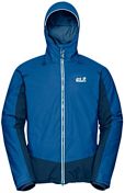 Куртка горнолыжная Jack Wolfskin 2018-19 EXOLIGHT BASE JACKET MEN electric blue