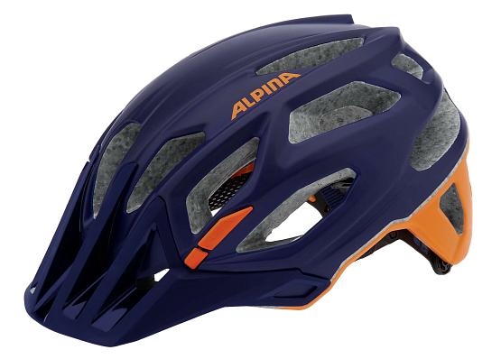 Купить Летний шлем Alpina Enduro Garbanzo darkblue-orange Шлемы велосипедные 1179833