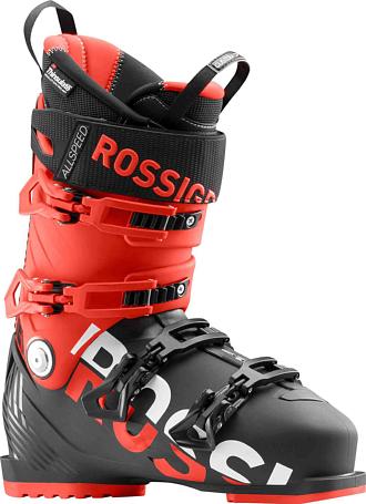 Купить Горнолыжные ботинки ROSSIGNOL 2017-18 ALLSPEED 130 BLACK/RED Ботинки горнoлыжные 1363773