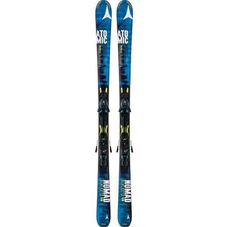 Купить Горные лыжи с креплениями ATOMIC 2014-15 NOMAD BLACKEYE ARC-L & XTO 12 Blue/Yellow, лыжи, 1140133