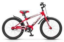 Велосипед6-9 лет (колеса 20)<br>Велосипед, предназначенный для детей в возрасте от 5 до 9 лет, без переключения передач. Технические особенности: прочная стальная рама, жесткая стальная вилка, усиленные алюминиевые обода, передний тормоз - ручной V-brake, задний - ножной, покрышки CHAOYANG H-518, пластиковые крылья. Все детали велосипеда прошли тщательную проверку на безопасность и полностью отвечают европейским стандартам качества. Подходит для обучения и легких прогулок. <br><br>&amp;nbsp;&amp;nbsp; Диаметр колес 20 дюймов, вес - 12,2 кг.<br><br>Производитель:&amp;nbsp;&amp;nbsp;&amp;nbsp;&amp;nbsp;STELS<br>Диаметр колес:&amp;nbsp;&amp;nbsp;&amp;nbsp;&amp;nbsp;20<br>Цвет:&amp;nbsp;&amp;nbsp;&amp;nbsp;&amp;nbsp;синий/красный, зеленый/черный<br>Размер рамы:&amp;nbsp;&amp;nbsp;&amp;nbsp;&amp;nbsp;12<br>Рама:&amp;nbsp;&amp;nbsp;&amp;nbsp;&amp;nbsp;cталь<br>Количество скоростей:&amp;nbsp;&amp;nbsp;&amp;nbsp;&amp;nbsp;1<br>Вилка:&amp;nbsp;&amp;nbsp;&amp;nbsp;&amp;nbsp;стальная, жёсткая<br>Рулевая колонка:&amp;nbsp;&amp;nbsp;&amp;nbsp;&amp;nbsp;сталь<br>Каретка:&amp;nbsp;&amp;nbsp;&amp;nbsp;&amp;nbsp;сталь<br>Шатуны:&amp;nbsp;&amp;nbsp;&amp;nbsp;&amp;nbsp;PROWHEEL, сталь<br>Втулка задняя:&amp;nbsp;&amp;nbsp;&amp;nbsp;&amp;nbsp;KT, сталь<br>Втулки:&amp;nbsp;&amp;nbsp;&amp;nbsp;&amp;nbsp;KT, сталь<br>Тормоза:&amp;nbsp;&amp;nbsp;&amp;nbsp;&amp;nbsp;передний: POWER, V-brake, алюминий, задний: ножной<br>Обода:&amp;nbsp;&amp;nbsp;&amp;nbsp;&amp;nbsp;алюминий<br>Покрышки:&amp;nbsp;&amp;nbsp;&amp;nbsp;&amp;nbsp;H-518, CHAOYANG, 20x2.125<br>Крылья:&amp;nbsp;&amp;nbsp;&amp;nbsp;&amp;nbsp;сталь<br>Педали:&amp;nbsp;&amp;nbsp;&amp;nbsp;&amp;nbsp;пластик<br>Вынос и Руль:&amp;nbsp;&amp;nbsp;&amp;nbsp;&amp;nbsp;сталь<br>Седло:&amp;nbsp;&amp;nbsp;&amp;nbsp;&amp;nbsp;Cionlli<br><br>Пол: Мужской<br>Возраст: Юниорский