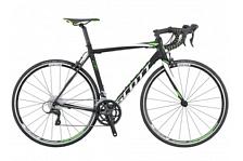 ВелосипедШоссейные<br>Шоссейный велосипед Scott CR1 30 2016. Установлены вилка CR1 Carbon, а также профессиональное оборудование. Scott CR1 30 2016 предназначен для скоростного катания по ровным дорожным покрытиям.<br> <br> Рама и амортизаторы<br> <br> Рама: CR1 Carbon / IMP Carbon technology /<br> Вилка: CR1 Carbon<br> <br> Цепная передача<br> <br> Манетки: Shimano Sora SORA ST-3500<br> Шатуны: Shimano Triple<br> Каретка: Shimano Octalink BB - ES25<br> Кассета: Shimano HG50-9<br> Цепь: Shimano HG53 KMC<br> <br> Колеса<br> <br> Обода: Syncros Race 27 Aero Profile<br> Спицы: CN - AERO<br> Bтулка: Formular PRO 20 H<br> Покрышка: Schwalbe Lugano<br> <br> Компоненты<br> <br> Передний тормоз: Shimano SORA BR-3500<br> Задний тормоз: Shimano SORA BR-3500<br> Руль: Syncros RR2.0<br> Рулевая колонка: Ritchey Int. Cartridge<br> Подседельный штырь: Syncros RR2.5 31.6/300<br><br>Пол: Унисекс<br>Возраст: Взрослый