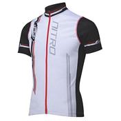 Веломайка BBB Nitro jersey s.s. white red (BBW-116)