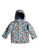 Куртка сноубордическаяОдежда детская<br>Детская сноубордическая куртка<br> <br> -Утеплитель Warmflight® (тело 200 г, рукава 120 г, капюшон 80 г)<br> -Подкладка из тафты и сетки с трикотажными вставками с начесом<br> -Критические швы проклеены<br> -Удобный съемный капюшон, с которым легко справится ребенок<br> -Капюшон подходит для использования со шлемом<br> -Рукава системы «на вырост» с регулируемой длиной<br> -Возможность пристегнуть перчатки или варежки к рукавам куртки<br> -Технология Mitt Keeper