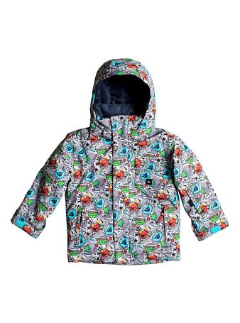 Купить Куртка сноубордическая Quiksilver 2016-17 Little Mission K SNJT GLQ9 Детская одежда 1279586