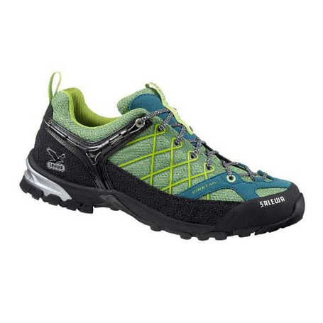 Треккинговые кроссовки Salewa Tech Approach Mens MS FIRE TAIL greenwich - teal