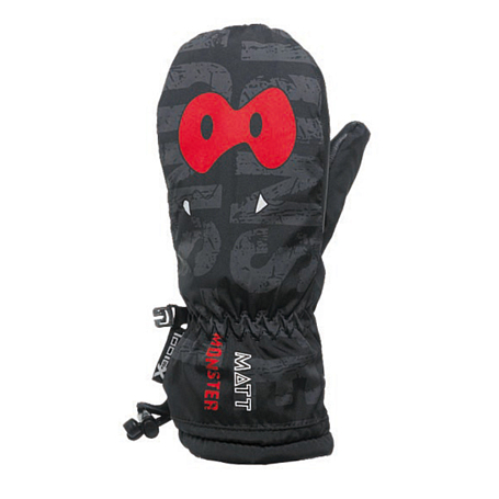 Варежки MATT 2016-17 MONSTER KID MITTEN TOOTEX MIT NG