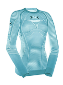 Футболка X-bionic 2016-17 Running Lady Effektor Power OW Shirt LG SL A291 / Синий