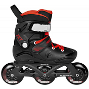 Роликовые коньки Powerslide 2021 Jet Pro Black/Red/White