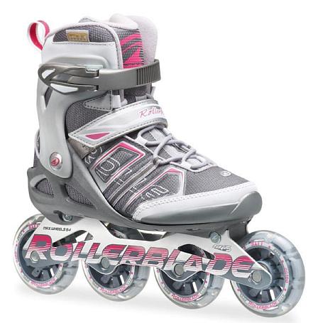Купить Роликовые коньки Rollerblade 2014 SIRIO SK 82 W ANTHRACITE/PINK, Ролики взрослые, 1076309