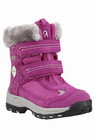 Купить Ботинки городские (высокие) Reima 2015-16 Kinos berry pink, Обувь для города, 1197599