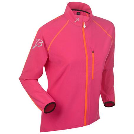 Купить Жакет беговой Bjorn Daehlie Jacket IMPACT Women Pink Glo (Розовый), Одежда для бега и фитнеса, 1023191
