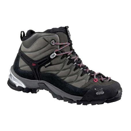Купить Ботинки для треккинга (высокие) Salewa Hike Approach Womens WS HIKE TRAINER GTX grey Треккинговая обувь 896816