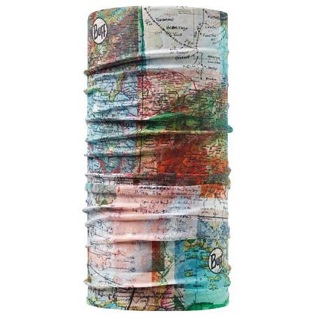 Купить Бандана BUFF SLIM FIT ITINERARY MULTI-MULTI-Standard Банданы и шарфы Buff ® 1227885