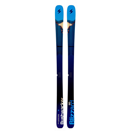 Купить Горные лыжи Blizzard 2014-15 Free Ride BUSHWACKER(FLAT) BLUE-WHITE 1119583