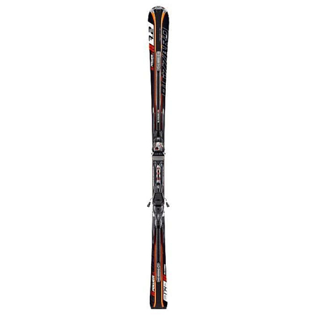 Горные лыжи с креплениями Blizzard 2012-13 G-POWER FULLSUSPENSION IQ +POWER 12 BLK-ORG-WHI