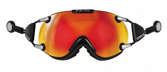 Купить Очки горнолыжные Casco FX70 Carbonic black gold, горнолыжные, 881845